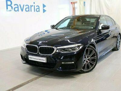 begagnad BMW 540 d xDrive Sedan M-Sport Innovation Head-Up 2018, Sedan Pris 458 700 kr