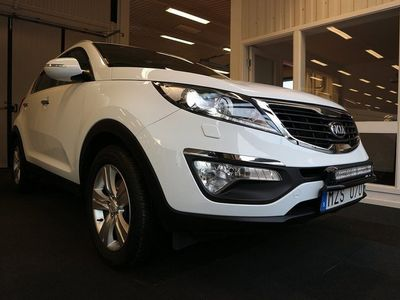begagnad Kia Sportage 1.7 CRDi EX 115hk Dragkrok