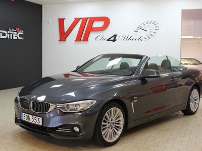begagnad BMW 420 i Convertible Steptronic Luxury Line