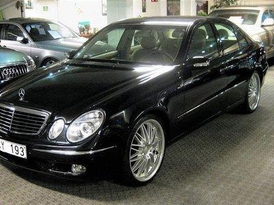 "begagnad Mercedes E240 5G-Tronic 177hk 20""fälgar ny besiktigad"