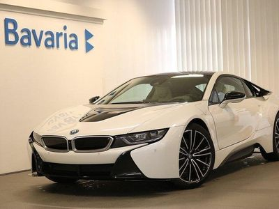 begagnad BMW i8 1.5 + 11.6 kWh 374hk Harman Kardon PD