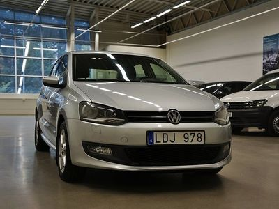 begagnad VW Polo 5-dörrar 1.4 Aut. Navi Comfortline 86hk