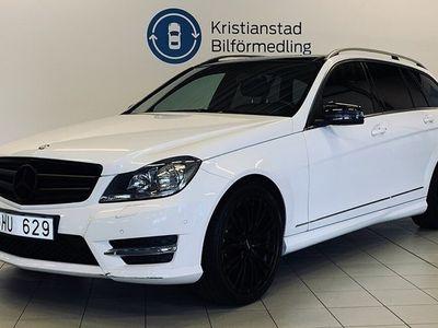 begagnad Mercedes 180 C-KlassT 7G-Tronic Plus AMG Panorama 156hk