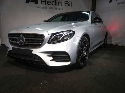 begagnad Mercedes E220 4Matic AMG Line / Premium Plus / Värmare / Demobil