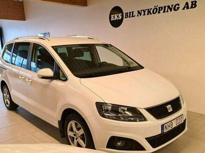 begagnad Seat Alhambra 2.0 TDI Ecomotive DSG Sekventiell 7-sits 140hk