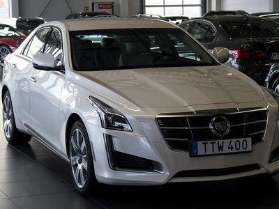 begagnad Cadillac CTS 4 2.0 T Läder Navi Sv-Såld