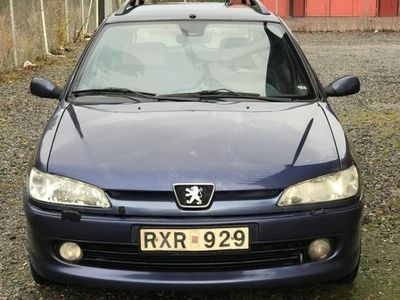 begagnad Peugeot 306 xt montana
