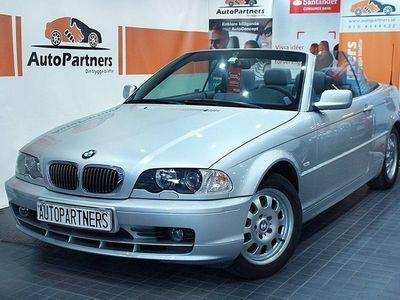 begagnad BMW 320 Cabriolet Ci Ci Convertible 170hk (SVENSKSÅLD)