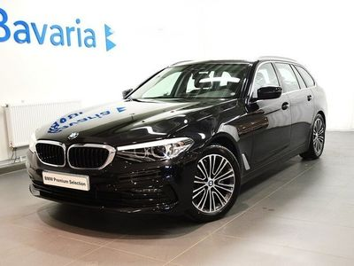used BMW 520 d xDrive Touring Sport Line Connected *Inkl nya v-hjul*