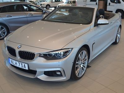 begagnad BMW 420 i Cabrio M-Sport / Navi / Parking / Hi -19