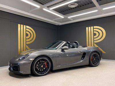 begagnad Porsche Boxster GTS (330hk) Sv-såld / Sportavgas