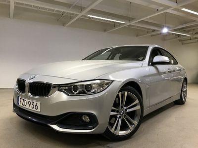 begagnad BMW 420 Gran Coupé d Sportline 190hk H-skinn Drag