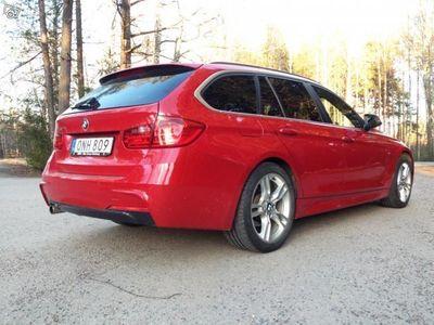 begagnad BMW 320 d xDrive M-Sport Drag Sv-såld -14