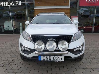 begagnad Kia Sportage 2.0 CRDi AWD Automat-Xenon-Motorvärmare-Vinterhjul-En ägare 2014, SUV 158 500 kr
