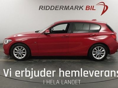 begagnad BMW 120 d Sport Line HiFi P-Assist Pdc