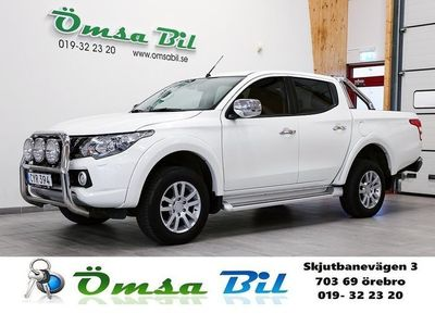 begagnad Mitsubishi L200 Dubbelhytt 2.4D 4WD AUT Business 181 HK