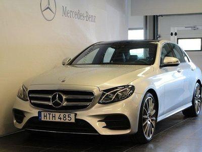 begagnad Mercedes E200 Sedan, AMG Line, Parker