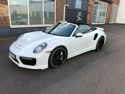 begagnad Porsche 911 Turbo S Cabriolet