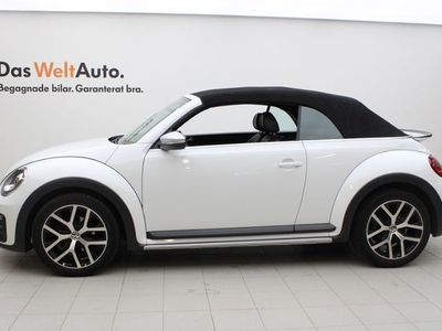begagnad VW Beetle TheCabriolet DUNE CAB DSG/AUTOMAT/BACKKAMERA M.M