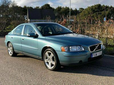 begagnad Volvo S60 2.4 140HK / Drag / Helskinn