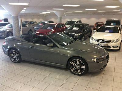 begagnad BMW 645 Ci Convertible Automat Dynamic 333hk