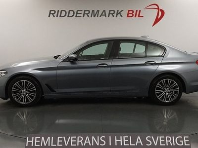 begagnad BMW 520 d Sport line Navi G30 Eu6 190hk