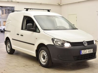 begagnad VW Caddy 2.0 Ecofuel Skåp 109hk 5163MIL / M-VÄRM