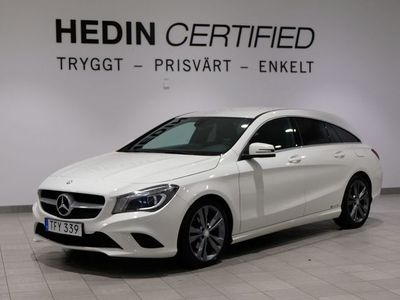 begagnad Mercedes CLA200 Shooting Brake - Benz D / NAVI / DRAGKROK / BACKKAMERA