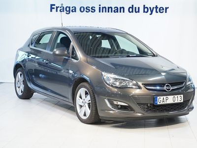 brugt Opel Astra Sport 5 dörrar 1.4 Turbo ECOTEC (AT6)