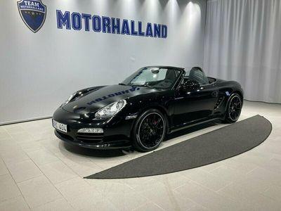 begagnad Porsche Boxster S Black Edition 3,4 320hk Sport Chrono