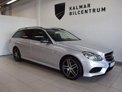 begagnad Mercedes 220 E-KlassBlueTEC kombi 9G-Tronic AMG Line