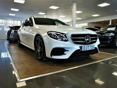 begagnad Mercedes E220 E Benzd 9G-Tronic AMG Sport Euro 6 2017, Kombi Pris 359 900 kr