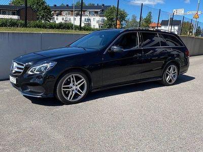 begagnad Mercedes E220 BlueTEC 7G-Tronic 170hk AMG/Drag/D-värm