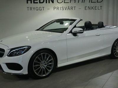 begagnad Mercedes C200 Cab // AMG // NAVI