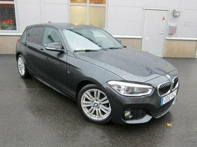 begagnad BMW 118 d 5-dörrars Steptronic M Sport Euro 6 3060 mil