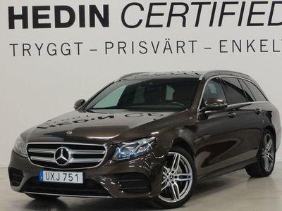begagnad Mercedes 220 - Benz E - Klass4Matic AMG Drag Panorama Värmare Navi