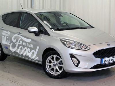 begagnad Ford Fiesta 1.0T 100hk Trend Plus-paket AC Rattvärme