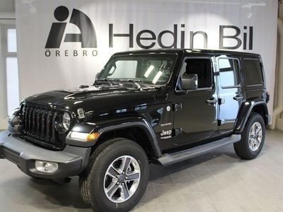 begagnad Jeep Wrangler Unlimited 2.0T