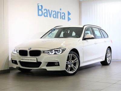 begagnad BMW 320 d xDrive Touring M-Sport Connected Park Assist Nav Drag Nypris 4