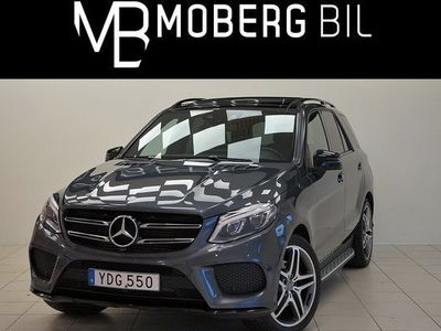begagnad Mercedes 350 GLE Benzd 4M AMG Panorama Night Package 2016, SUV 439 900 kr
