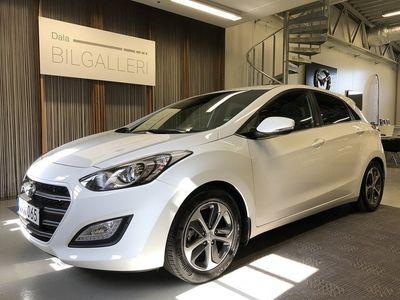 used Hyundai i30 5-dörrar 1.6 CRDi DCT Euro 6 136hk NYBILSGARANTI