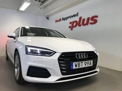 begagnad Audi A5 Sportback 45 TFSI quattro Q S-tronic 2019, Sportkupé 359 000 kr