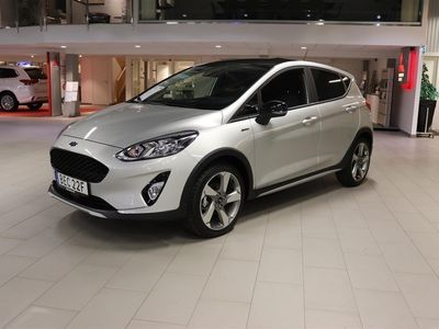 begagnad Ford Fiesta Active 1.0t EcoBoost 100hk 6at