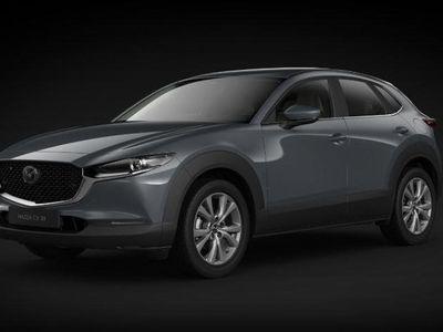 begagnad Mazda CX-30 A6 2.0 Cosmo 122 hk Svart Skinnklädsel