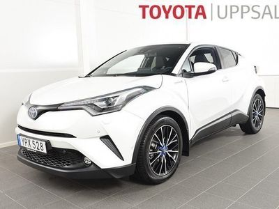 begagnad Toyota C-HR 1,8 Elhybrid Executive Teknikpaket Skinn JBL