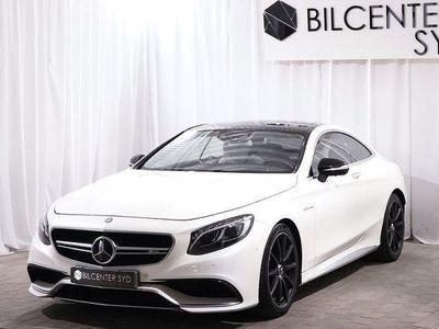 begagnad Mercedes S63 AMG AMG Coupé 4matic 585hk