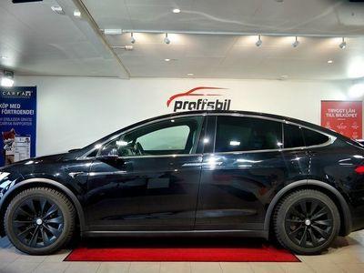 begagnad Tesla Model X 100D AWD Single Speed 423hk Lea -17