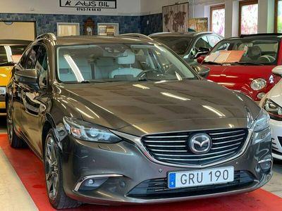 begagnad Mazda 6 Wagon2.2 SKYACTIV-D AWD Automat Euro6 175hk GPS Drag