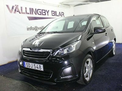 begagnad Peugeot 108 5-dörrar 1.0 VTi ETG5,Automat, Euro 6(69hk)Full Servic