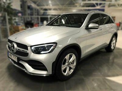 begagnad Mercedes GLC220 d 4M 4MATIC 194hk Värmare AMG Line SoV-hjul